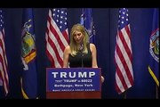 Ivanka Trump campaigns for dad Donald Trump in Bethpage, New York - LoneWolf Sager(◑_◑)