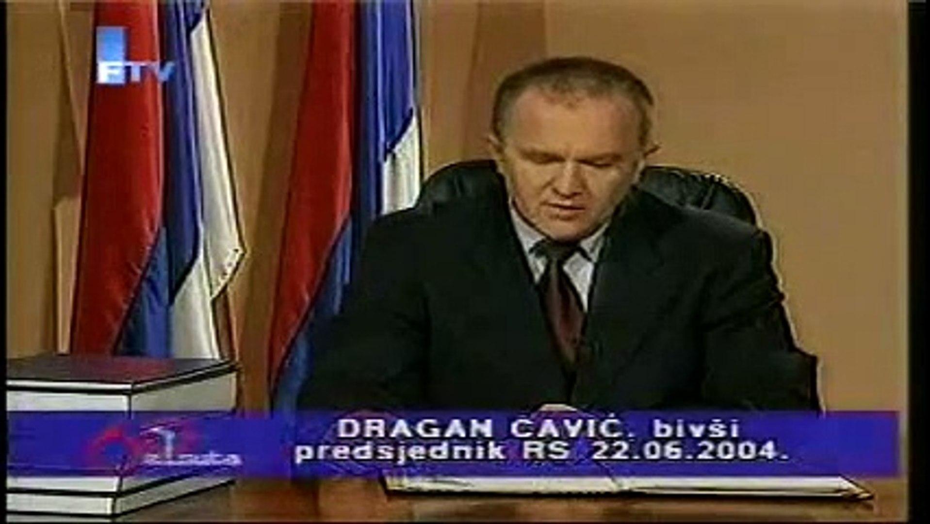 Dragan Čavič - predsjednik RS