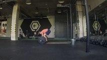Squat snatch + snatch balance