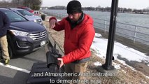 Oil Spill Response Technology Demo at Hains Point