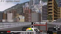 F1 1988  GTR 2 Mod Ayrton Senna McLaren-Honda  MP4/4 at Monaco '88