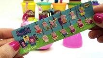 Play Doh Eggs Peppa Pig Toys Peppa Pig Surprise Eggs Peppa Pig and Friends Surprise Eggs Part 8