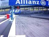 Crash f1 06 roue voilé