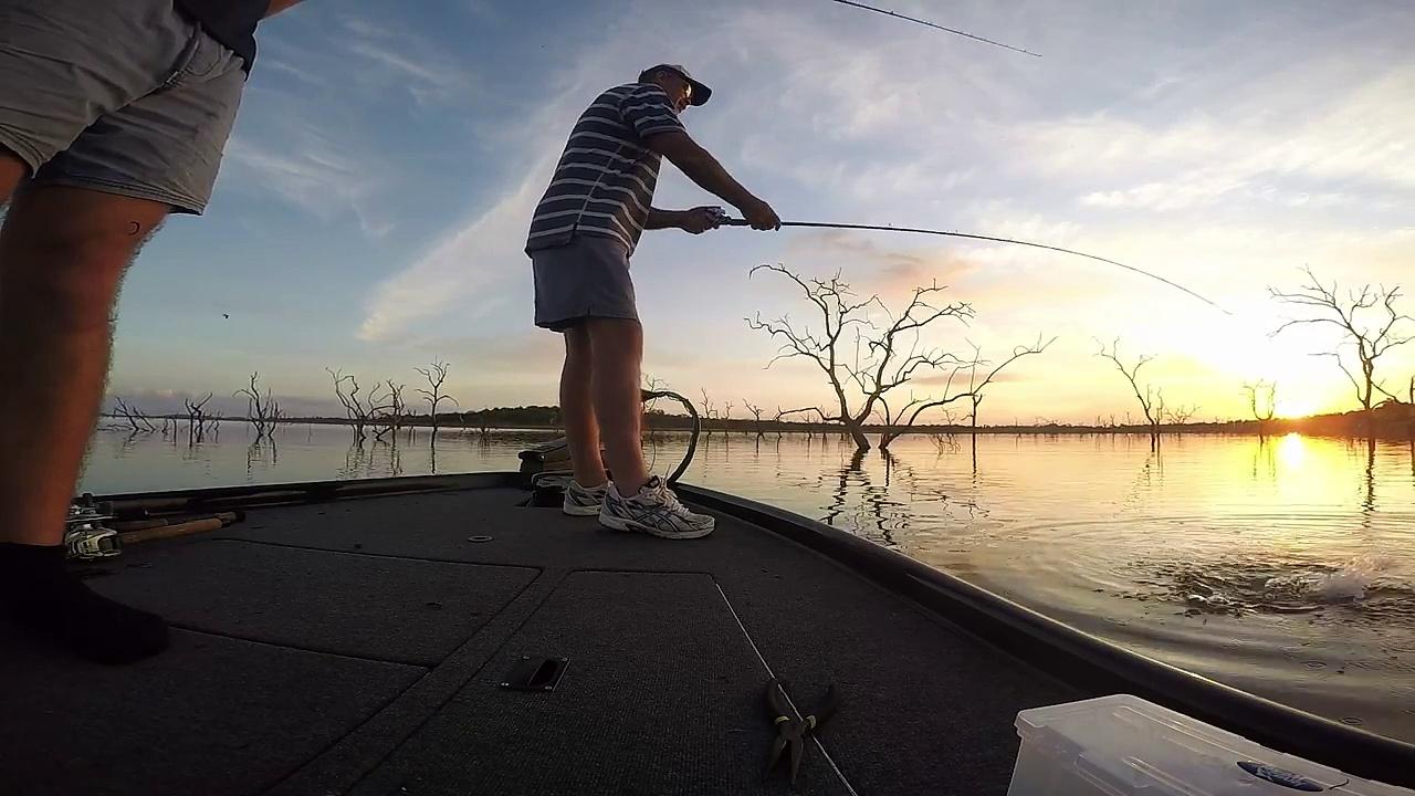 Bass fishing – Mteri Zimbabwe – July 2015.