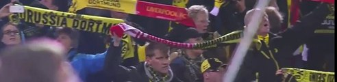 Borussia Dortmund & Liverpool F.C. fans unite for a special rendition of YNWA