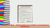 Download  The Art of War  Spirituality for Conflict Annotated  Explained Free Books