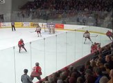 Ohio State Buckeyes Hockey Ferris State Bulldogs Highlights 1/11/13