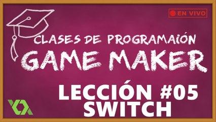 Clases de Programación GameMaker - Lección #5 (Parte 2-3)