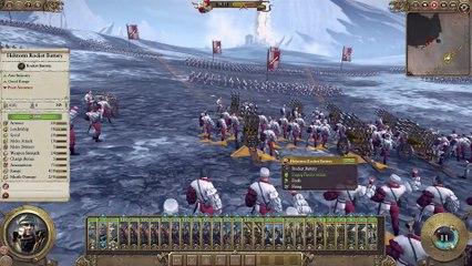 Total War : Warhammer - Empire vs Chaos Warriors de Total War : Warhammer