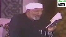 فيديو رائع لفضيلة الشيخ  محمد متولي الشعراوي  -  لحظة  إحتضار والد الشيخ الشعراوي