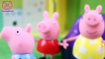Pig George da Familia Peppa Pig com Medo do Genio da Lâmpada Novelinha ToyToysBrasil em Português!!