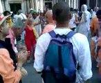 Buddisti a Venezia! Piazza San Marco Festival del Cinema