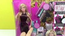 Barbie Pırıltılı Elbiseler Tasarım Merkezi Oyuncak Seti Bebek Giydirme