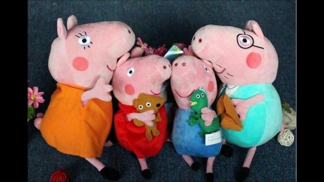 Peluches Peppa Pig y su familia