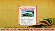 PDF  Holts Battle Map of Normandy DDay Landing Beaches Dday Landing Beaches Battle for Download Full Ebook