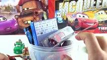 Mater DEV Sürpriz Yumurta Açma Oyun Hamuru Hot Wheels Şimşek Mcqueen Oyuncak Arabalar