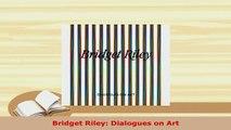 PDF  Bridget Riley Dialogues on Art  EBook