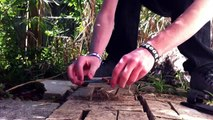 How to use the Fire Starter on the Bear Grylls Ultimate Knife