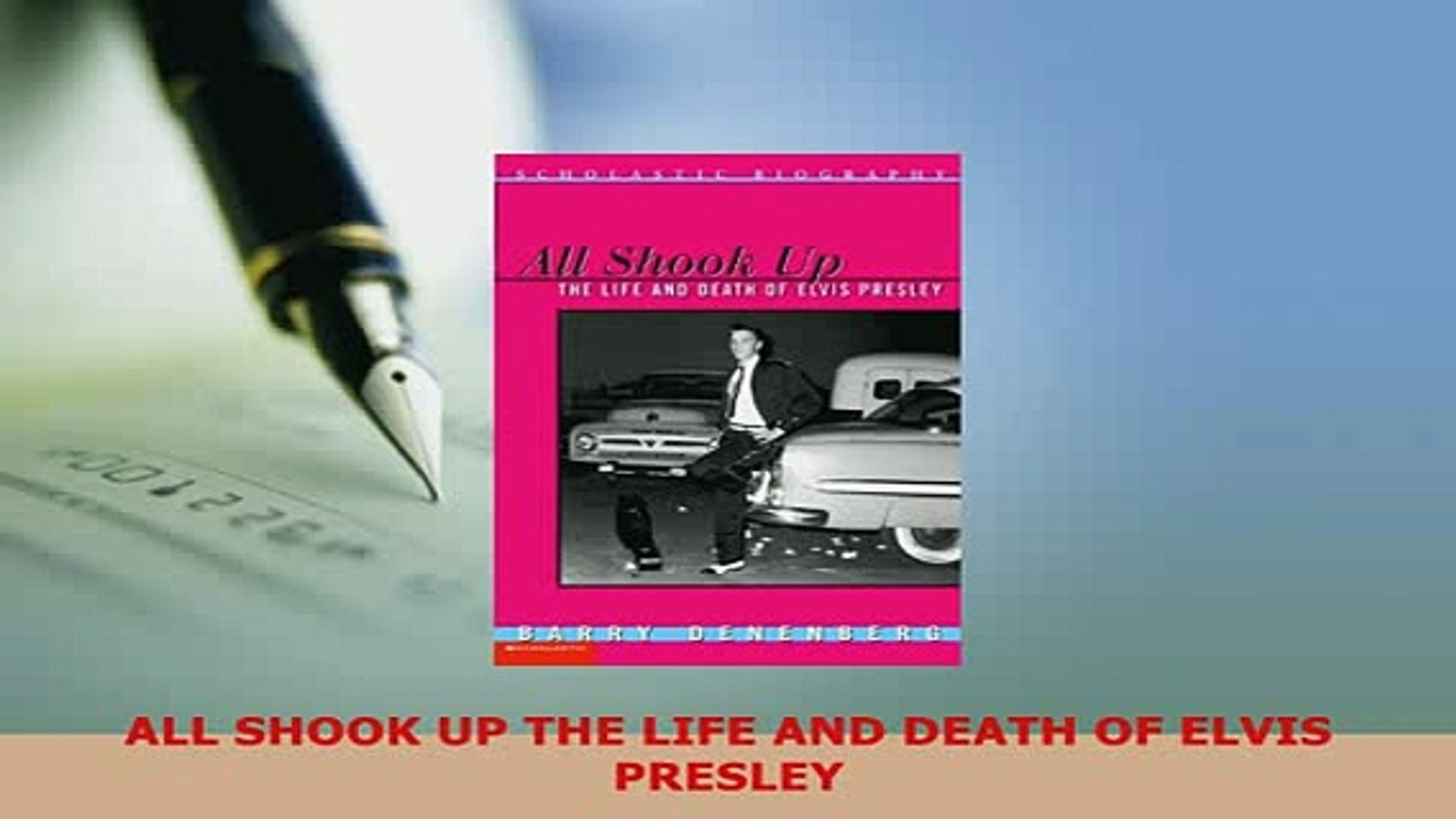 Download  ALL SHOOK UP THE LIFE AND DEATH OF ELVIS PRESLEY Ebook