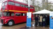 Le DP-Bus du débat public EuropaCity à Tremblay-en-France