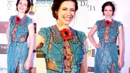 Kalki Koechlin Hot In Transparent Dress