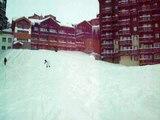 snowboarding in valthorens france