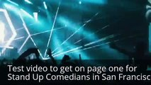 Stand Up Comedians in San Francisco
