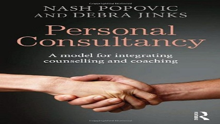 Download Personal Consultancy A model for integrating counselling and coaching | Godialy.com