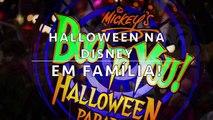 Halloween Makeup Tutorial - Maquiagem na Disney - Tutorial e snap