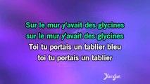Karaoké Les glycines - Serge Lama *