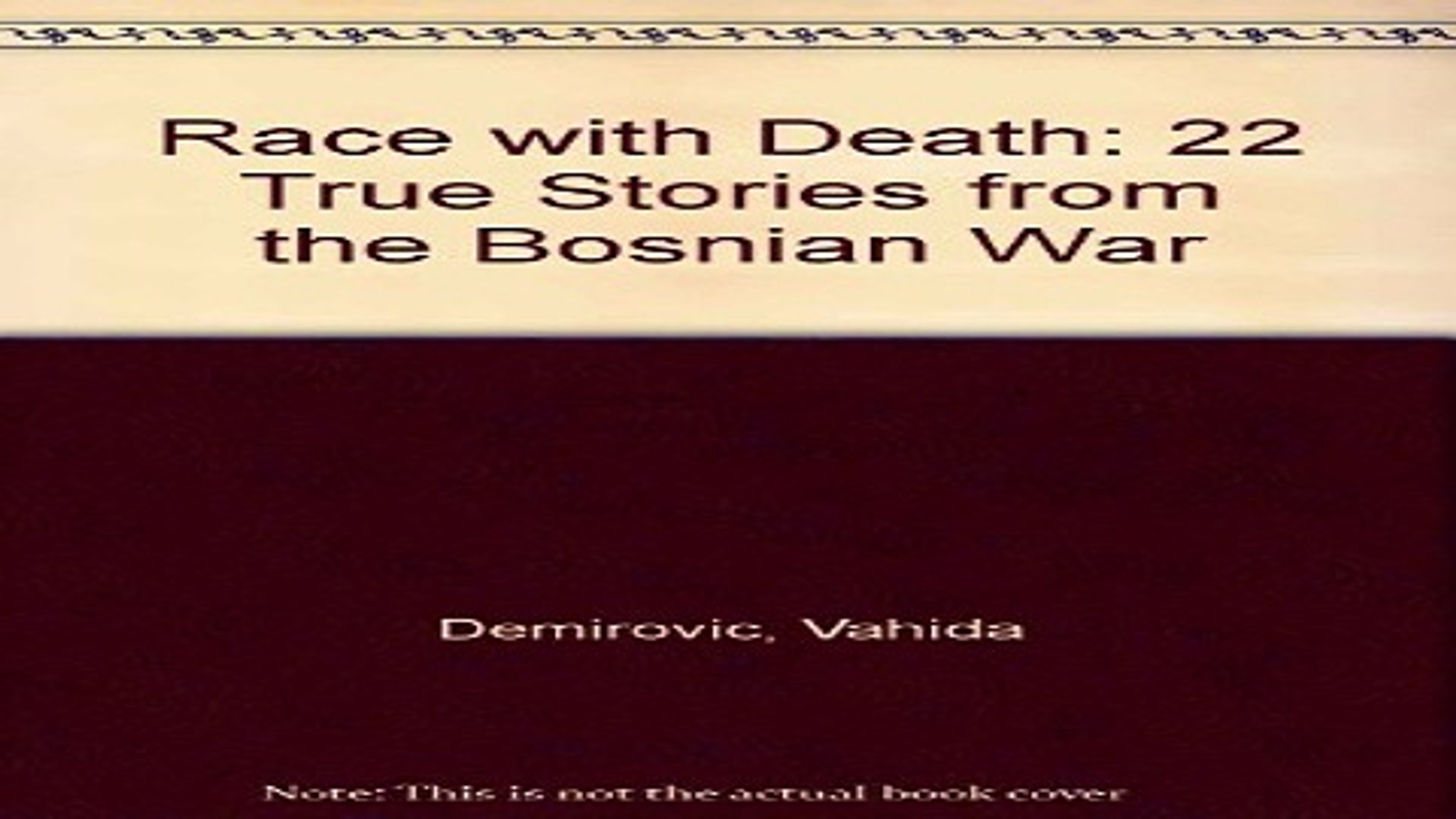 Read Race with Death  22 True Stories from the Bosnian War Ebook pdf download