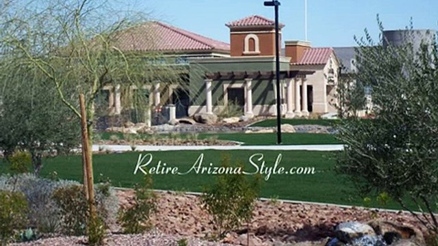 Retirement Community Arizona, CantaMia retirement community nestled in the Estrella Mountains.