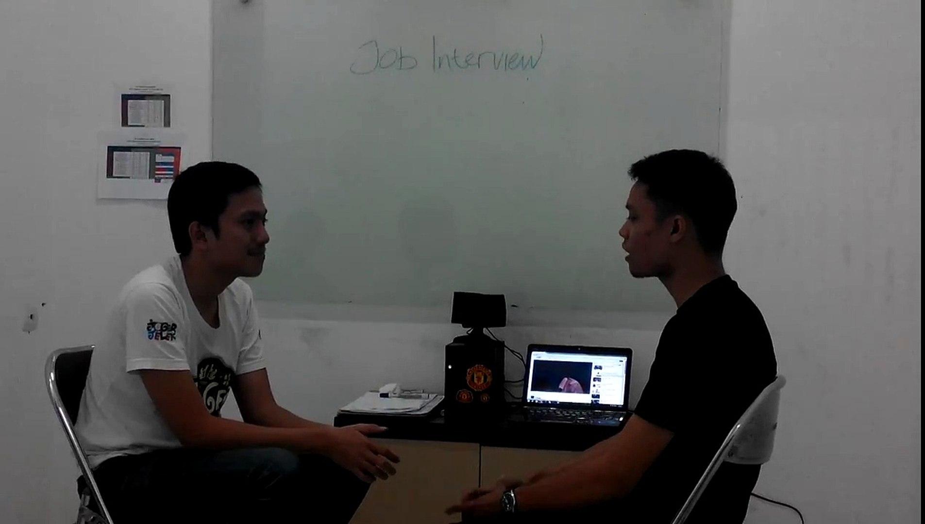 Job Interview Preparation Kampung Inggris Bandung