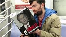 Il lit les livres les plus scandaleux dans le métro