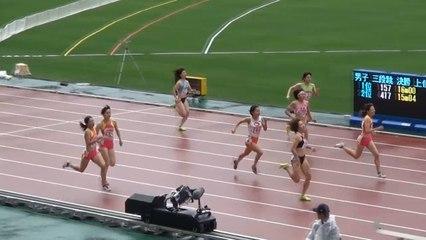 2015日本選手権 女子400m予選~決勝