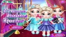 Frozen Babies Doctor - Princess Elsa and Anna Doctor Care Games