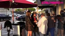 Nikki & Courtney Sixx Of Motley Crue Arrive To Craigs & Asked About Guns N Roses Reunion