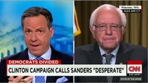 Sanders responds to Washington Post giving him three Pino.