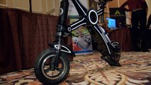 This fast, foldable scooter brings the X-factor to your commute