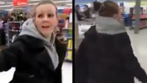 Heroic Or Crazy? Angry Customer Confronts Shoplifting Woman At Walmart