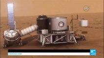 Mission Mars : la NASA teste des habitations gonflables pour abriter les astronautes