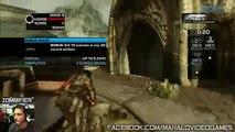 Gears of War 3   Multiplayer   Horde Mode   Overpass   z0mbifier   Wave 8