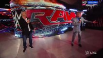 Vince McMahon announces Shane McMahon as new WWE Raw Incharge
