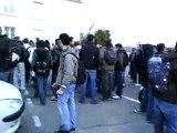 manif anti darcos lycée charles peguy