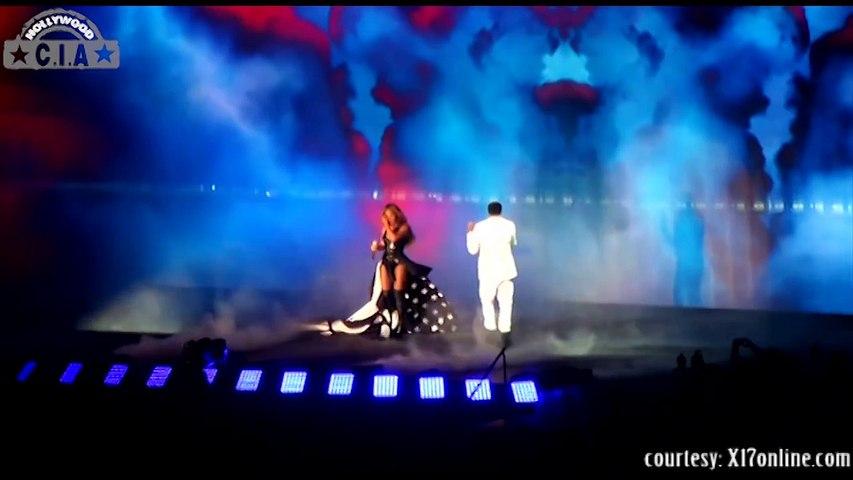 Beyonce MTV VMA 2014 Medley Performance Revelations at the MTV Video Music Awards 2014