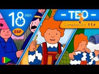 TEO | Colección 11 (Teo y los medios de transporte 2) | Episodios completos para niños | 18 minutos