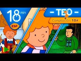 TEO | Colección 10 (Teo de excursión 3) | Episodios completos para niños | 18 minutos