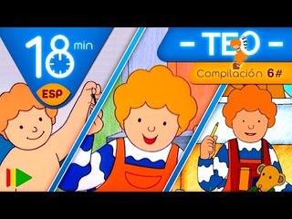 TEO | Colección 06 (Teo y las vacaciones) | Episodios completos para niños | 18 minutos