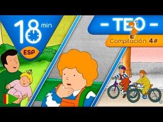 TEO | Colección 04 (Teo y los medios de transporte) | Episodios completos para niños | 18 minutos