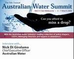 IIR Interview - Nick Di Girolamo, Australian Water Summit